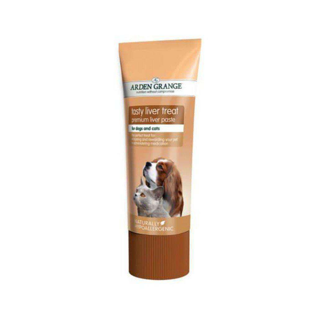 Arden Grange Tasty Liver Paste Treat for Dogs & Cats 75g-Dog Treat-Arden Grange-Dofos Pet Centre