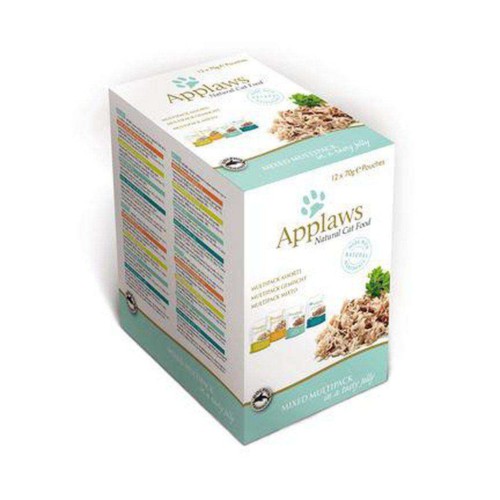 Applaws Mixed Multipack in Tasty Jelly Wet Cat Food Pouches 12 x 70g-Cat Wet Food-Applaws-Dofos Pet Centre