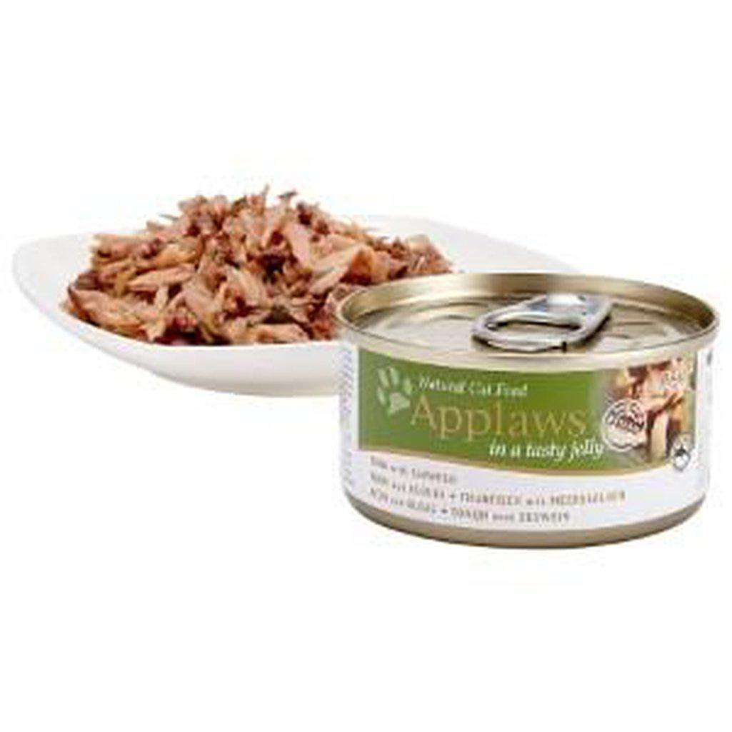 Applaws Tuna With Seaweed Wet Food 70g In Jelly-Cat Wet Food-Applaws-70g-Dofos Pet Centre