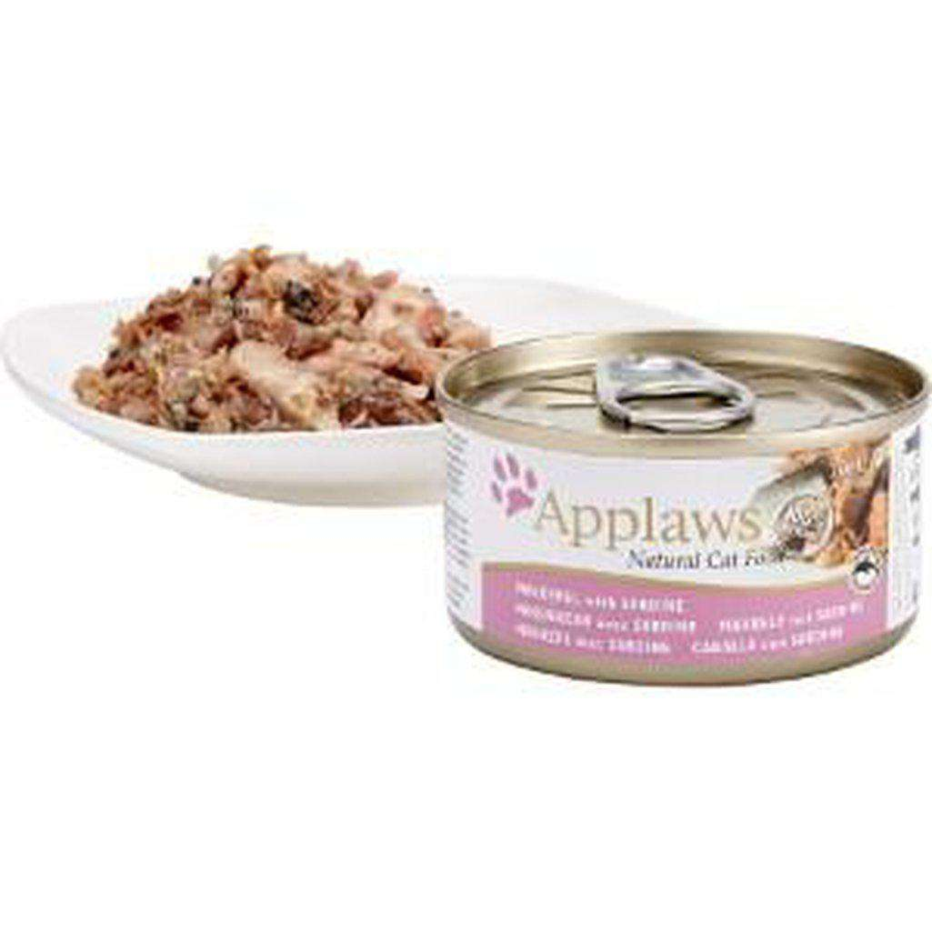 Applaws Mackerel With Sardine Wet Food 70g-Cat Wet Food-Applaws-70g-Dofos Pet Centre