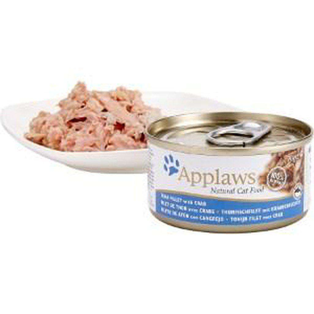 Applaws Tuna Fillet With Crab Cat Wet Food 70g-Cat Wet Food-Applaws-70g-Dofos Pet Centre