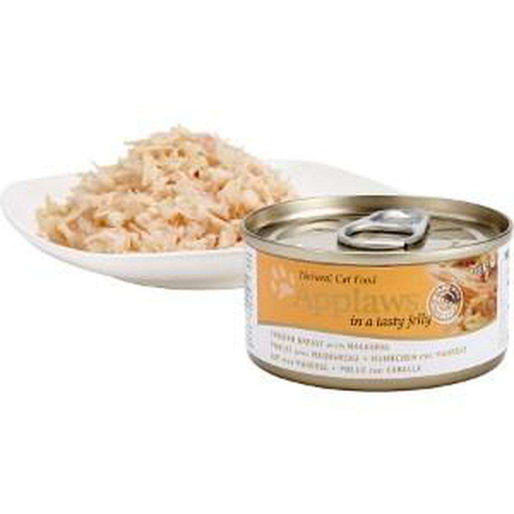 Applaws Chicken With Mackerel Wet Food 70g In Jelly-Cat Wet Food-Applaws-70g-Dofos Pet Centre