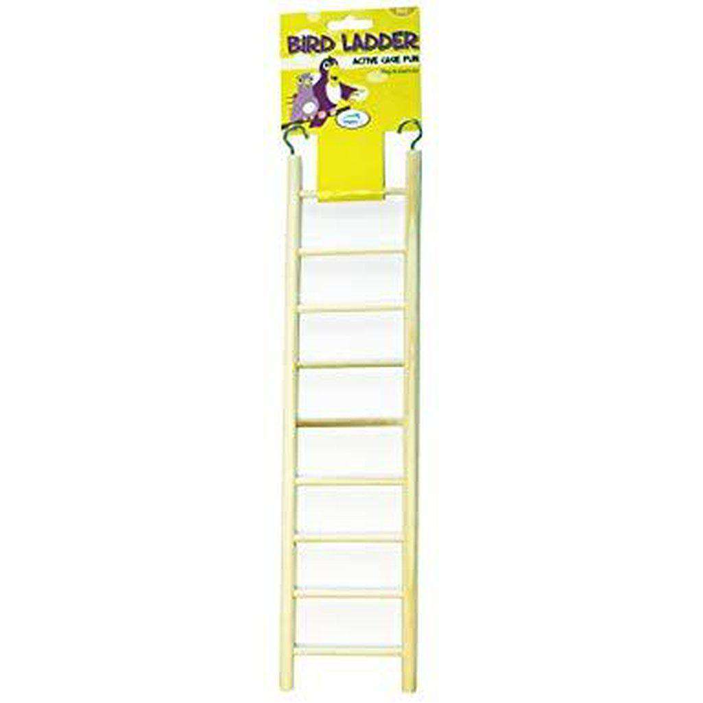 Happy Pet Wooden Bird Ladder (Three Sizes)-Bird Toys-Happy pet-5-step 24cm-Dofos Pet Centre