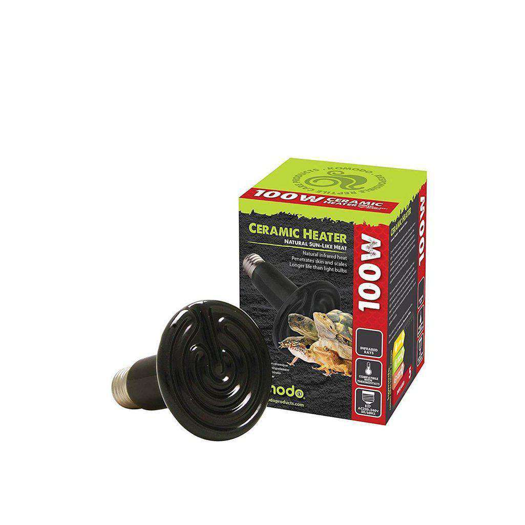Komodo Ceramic Heat Emitter ES-Reptile Lighting & Heating-Dofos Pet Centre-50-Dofos Pet Centre