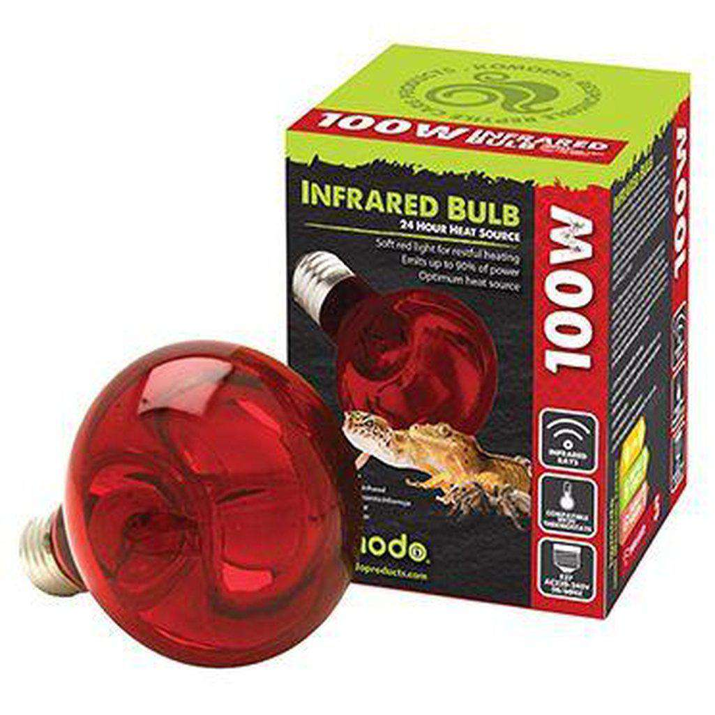 Komodo Infrared Spot Bulb ES-Reptile Lighting-Dofos Pet Centre-50-Dofos Pet Centre