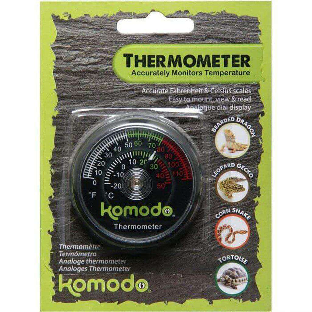 Komodo Thermometer Analog-Reptile Accessories-Dofos Pet Centre-Dofos Pet Centre