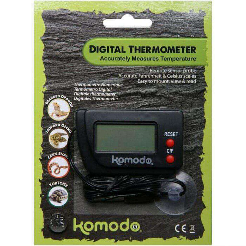 Komodo Thermometer Digital-Reptile Accessories-Dofos Pet Centre-Dofos Pet Centre