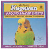 Sanded Sheets For Birds - Various sizes
