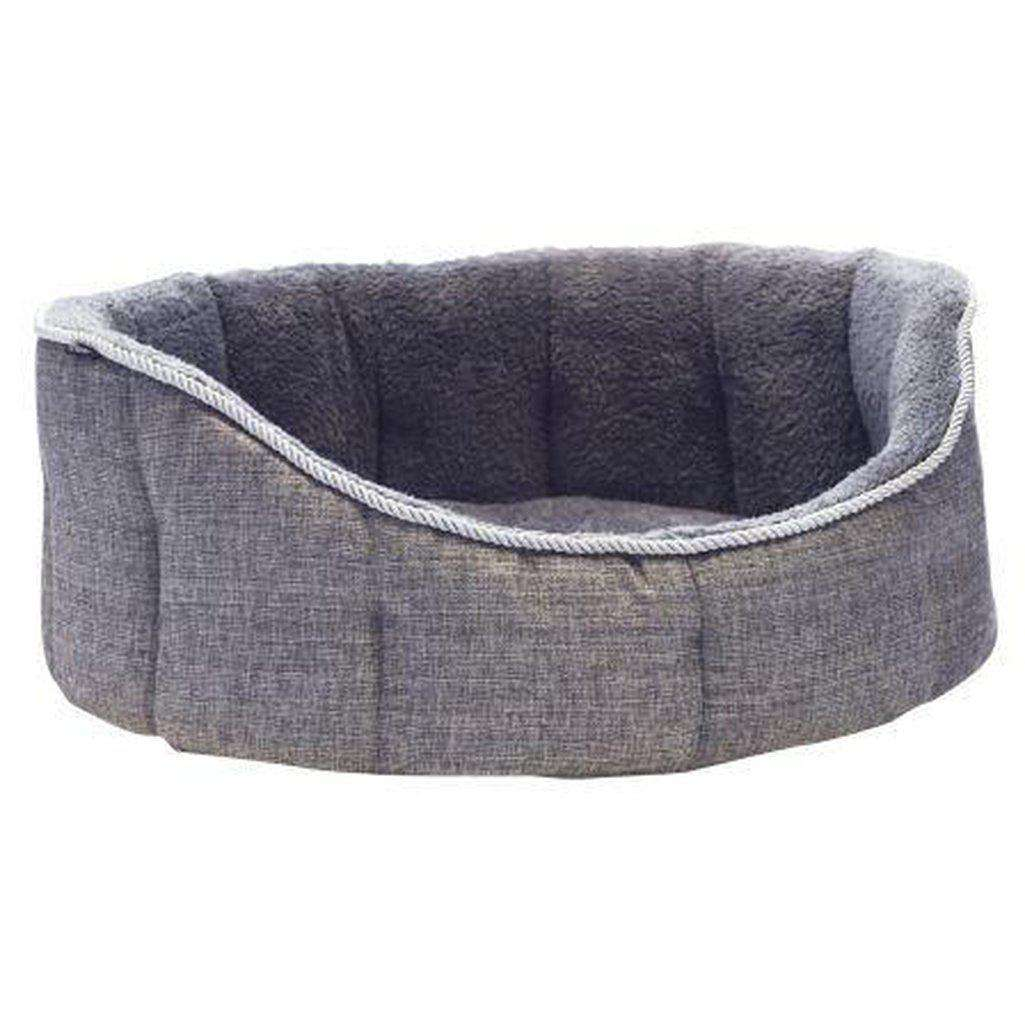 "Vita Luxury Oval Dog Bed-Dog Bed-Kudos-18""-Dofos Pet Centre"