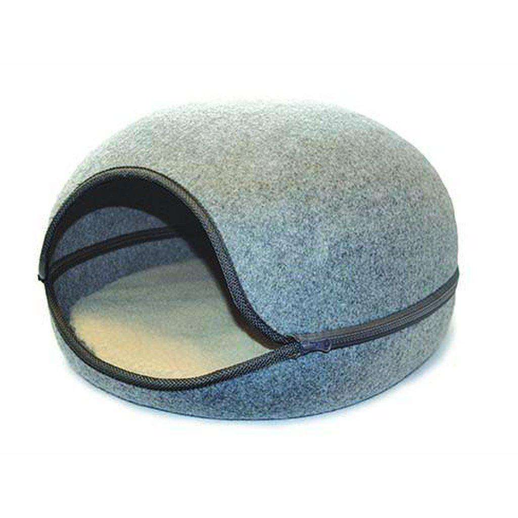Buster & Beau Oslo Pod - All Colours-Cat Beds-Happy Pet-Grey-Dofos Pet Centre
