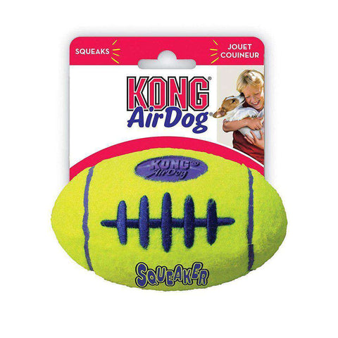 KONG AirDog American Football Squeaker Dog Toy