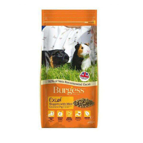 Burgess Excel Tasty Nuggets for Guinea Pigs with Mint