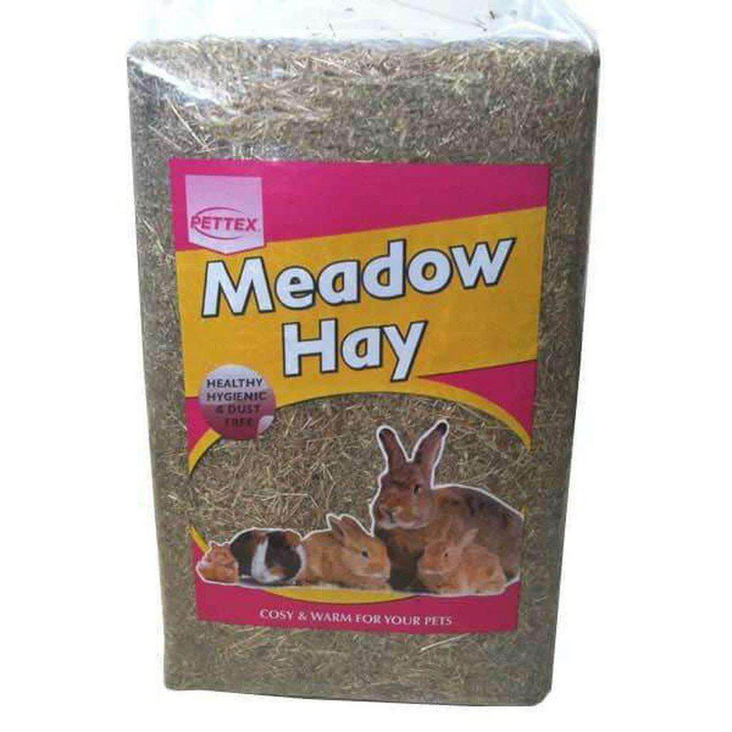 Pettex Compressed Bale Meadow Hay 3.7kg-Small Animal Bedding-Dofos Pet Centre-Dofos Pet Centre