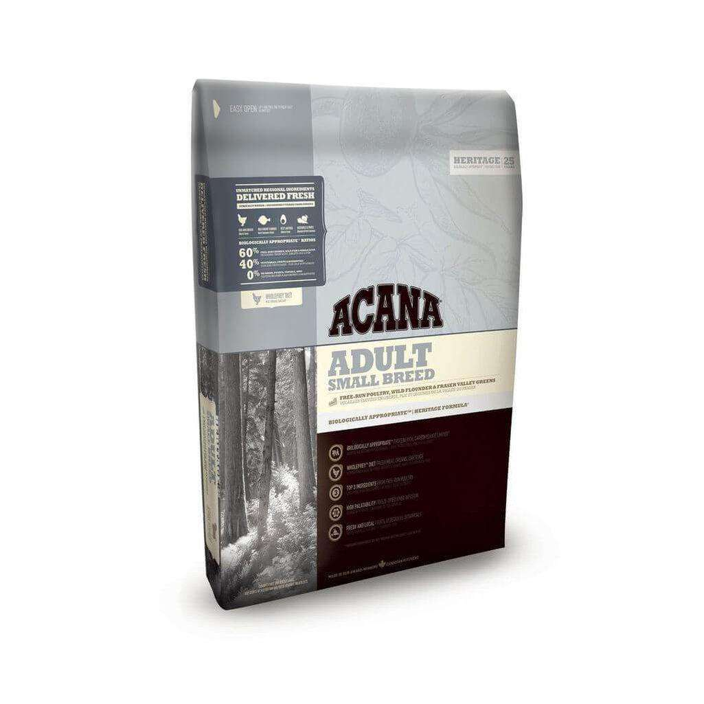 Acana Heritage Adult Small Breed Grain Free Dry Dog Food-Dog Dry Food-Acana-2kg-Dofos Pet Centre