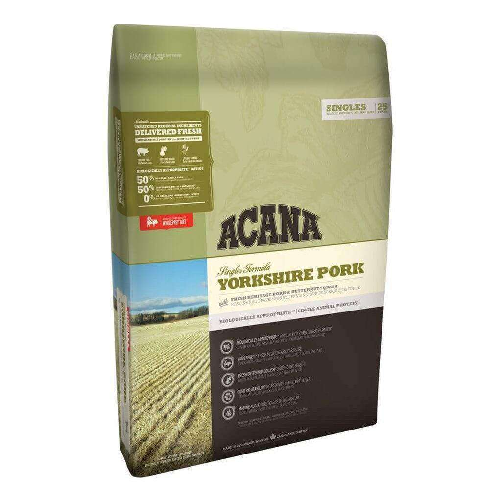 Acana Yorkshire Pork Grain Free Dog Food-Dog Dry Food-Acana-2kg-Dofos Pet Centre
