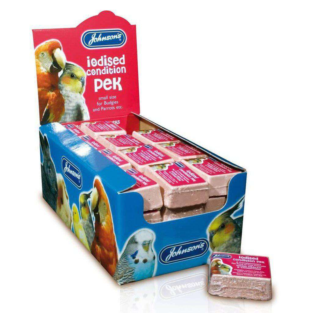 Johnsons Iodine Condition Block - Both Sizes-Bird Accessories-Johnsons-33g-Dofos Pet Centre