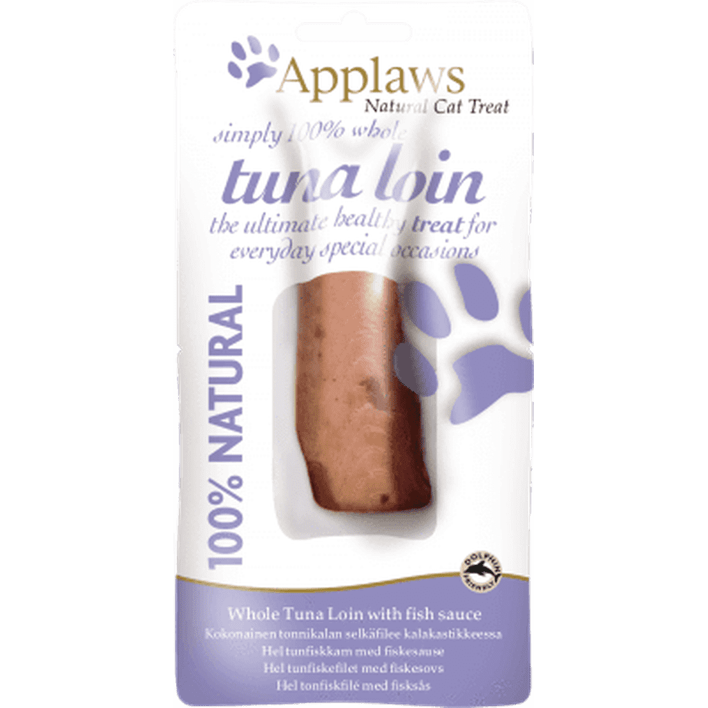 Applaws Whole Tuna Loin With Fish Sauce 30g Cat Treat-Cat Treats-Applaws-Dofos Pet Centre
