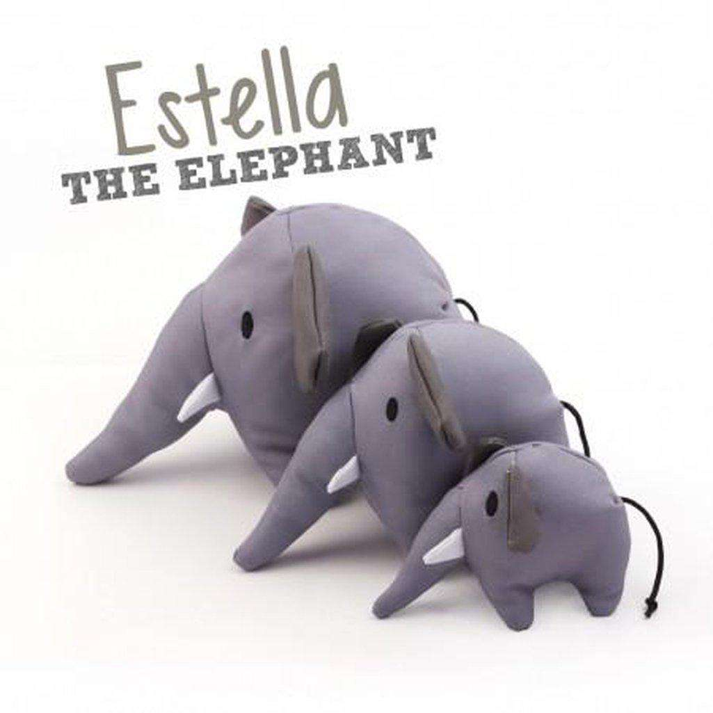 Beco Pets Estella Elephant Dog Toy-Dog Toys-Beco-Dofos Pet Centre