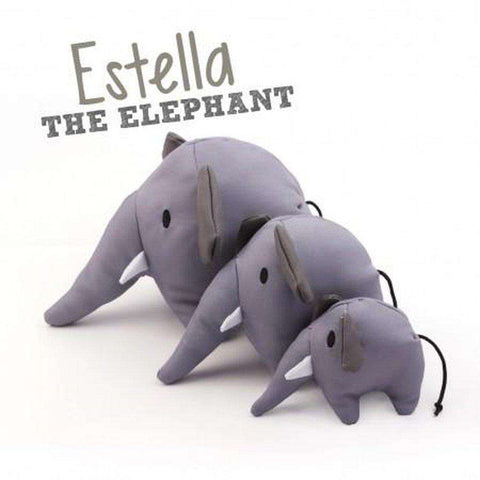 Beco Pets Estella Elephant Dog Toy