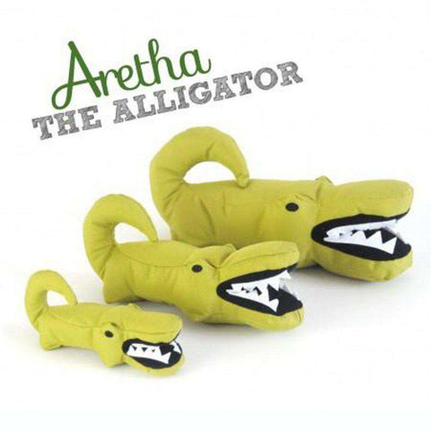 Beco Pets Aretha Alligator Dog Toy