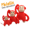 Beco Pets Michelle Monkey Dog Toy-Dog Toys-Beco-Dofos Pet Centre
