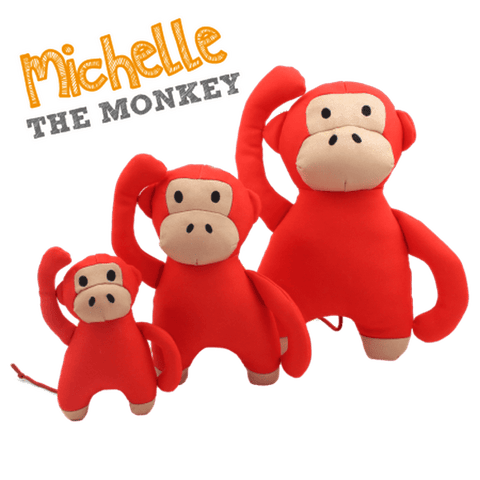 Beco Pets Michelle Monkey Dog Toy