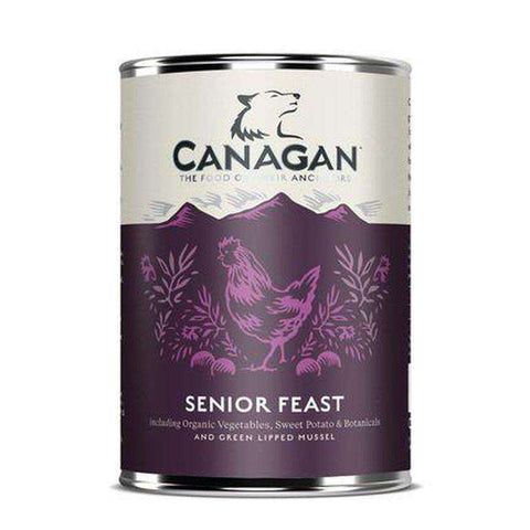 Canagan Senior Feast Chicken and Turkey Wet Dog Food 400g