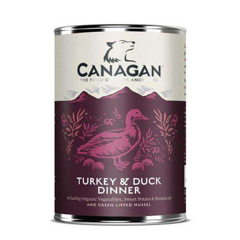 Canagan Turkey & Duck Dinner Wet Dog Food 400g