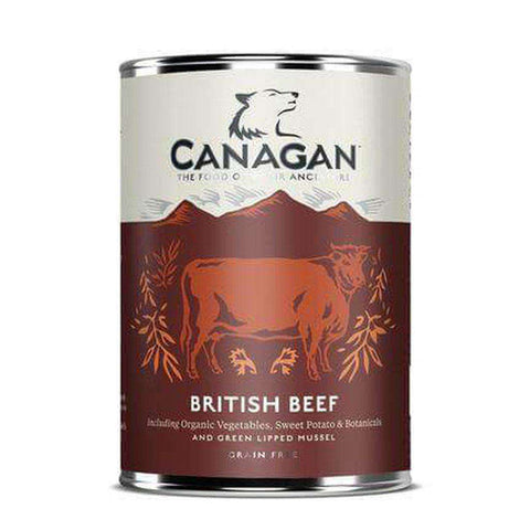Canagan British Beef Wet Dog Dood 400g