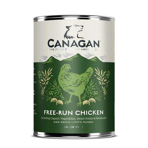 Canagan Free-Run Chicken Wet Dog Food 400g