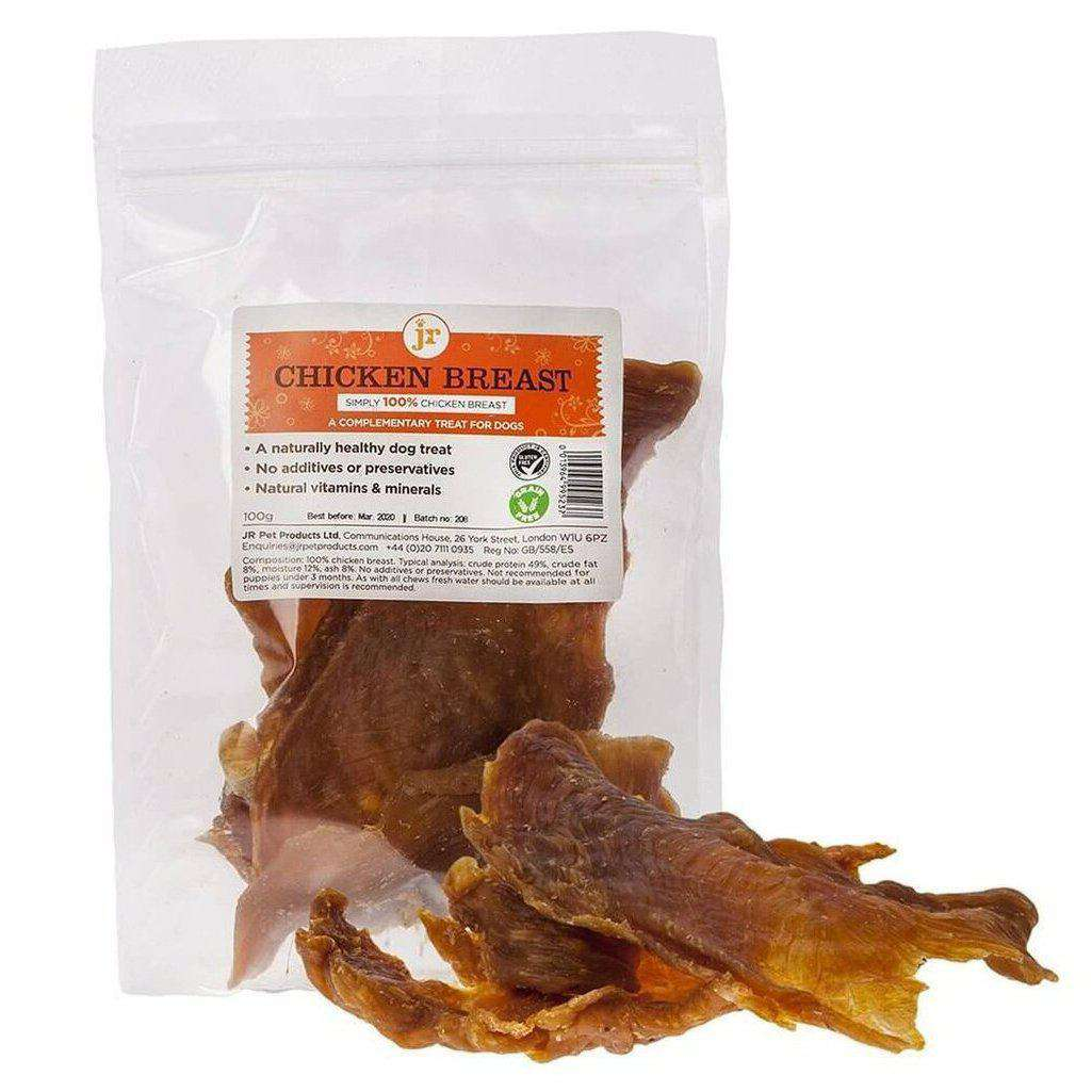 Chicken Breast Jerky-Dog Treat-Jr PEt Products-100g-Dofos Pet Centre