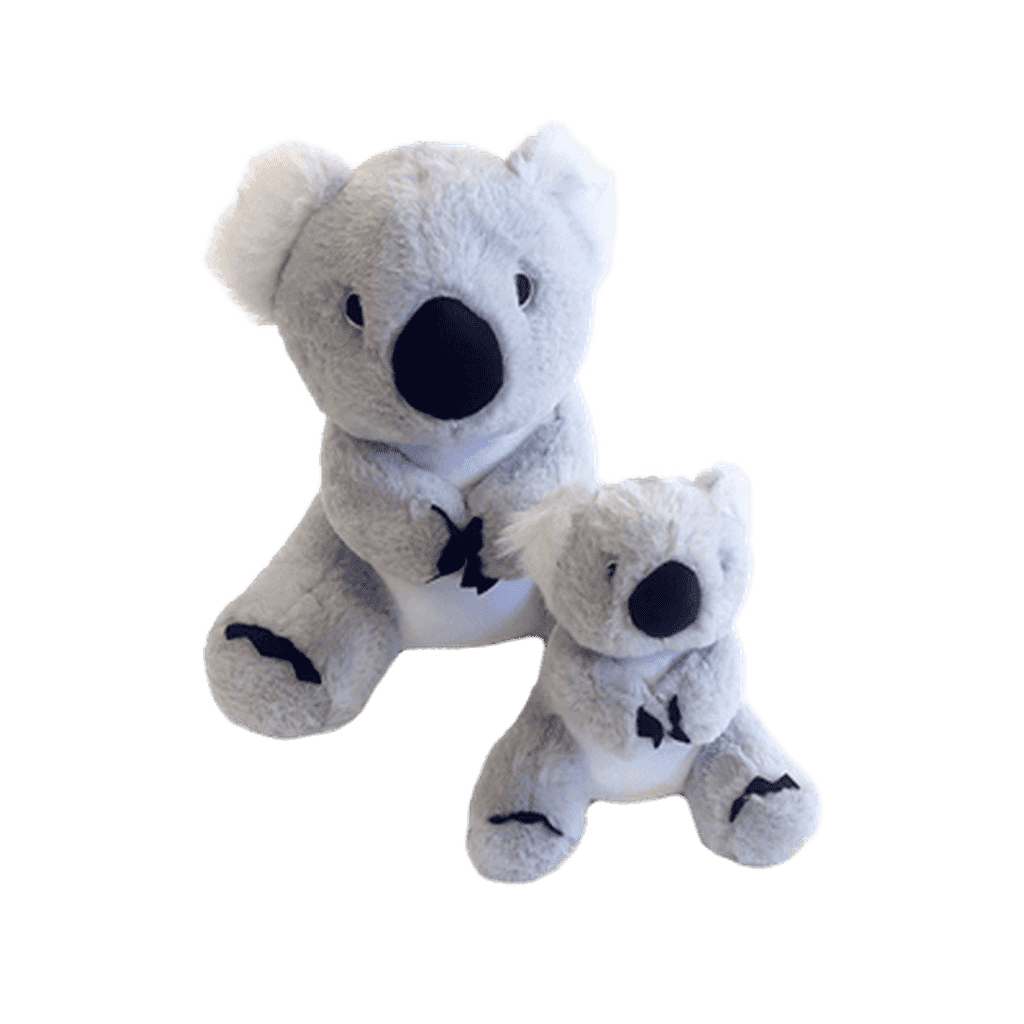 Gor Hugs Koala-Dog Toys-gor pet-Mommy Koala 38cm-Dofos Pet Centre