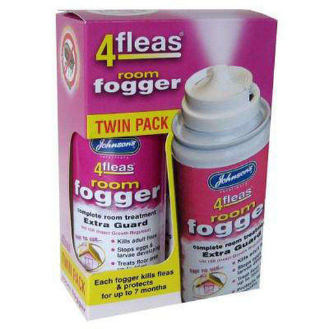Johnsons 4fleas Flea Fogger Killer Bomb Spray - House Treatment