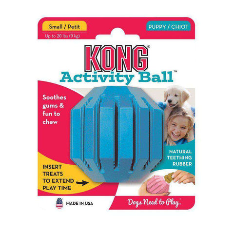 KONG Puppy Activity Ball Dog Toy
