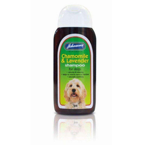 Johnson's Chamomile & Lavender Dog Shampoo 200ml