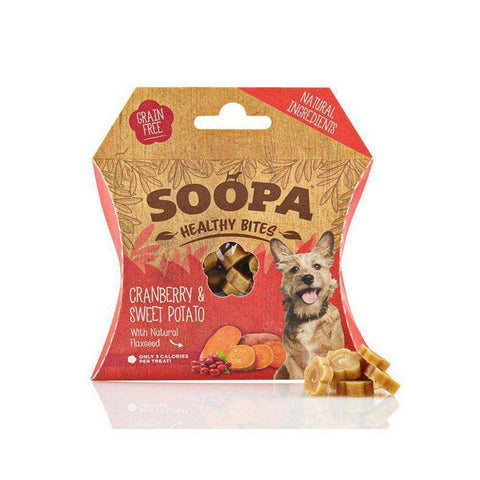 Soopa Healthy Bites Cranberry and Sweet Potato