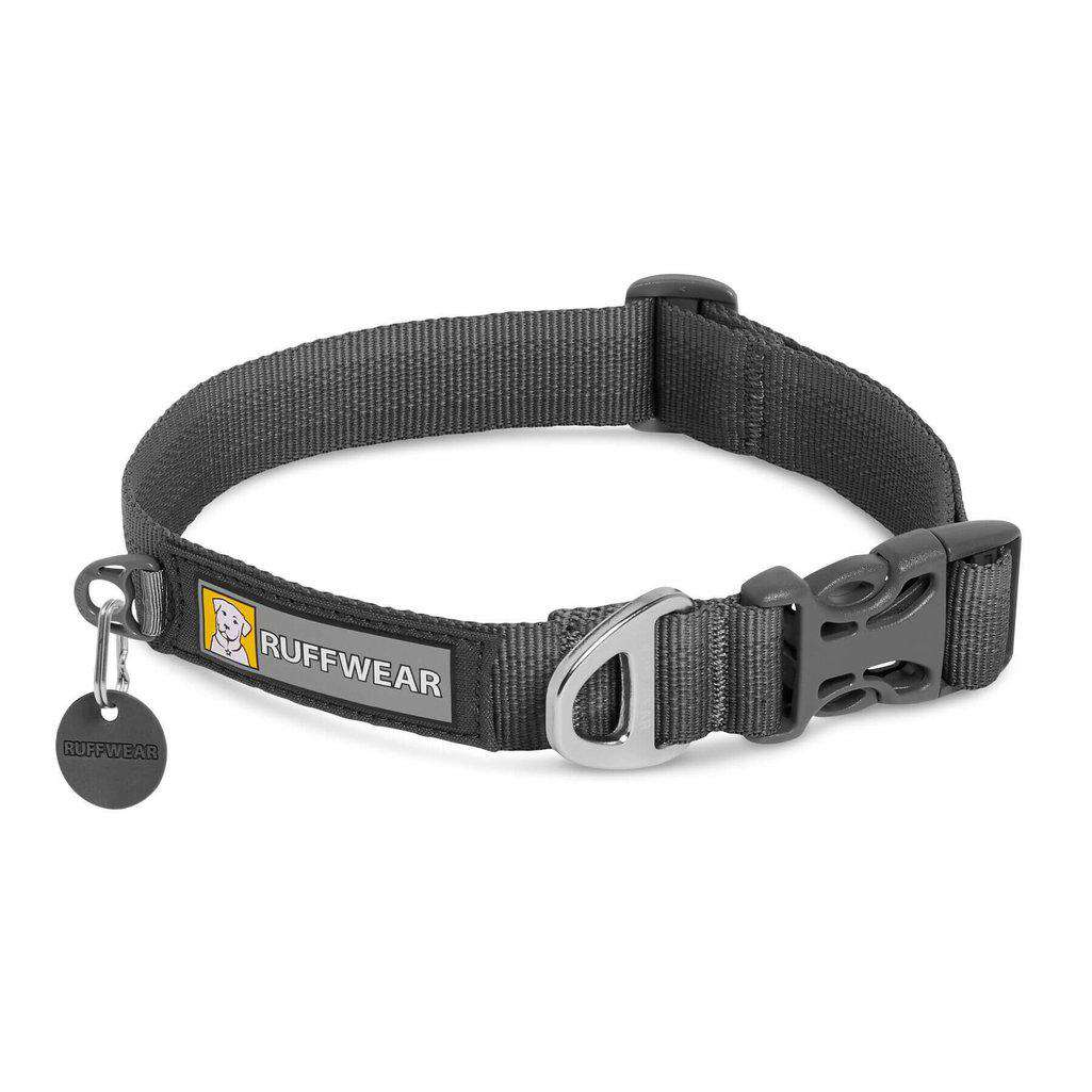 "Ruffwear Front Range Collar-Dog Collar-Ruffwear-11-14""-Twilight Gray-Dofos Pet Centre"