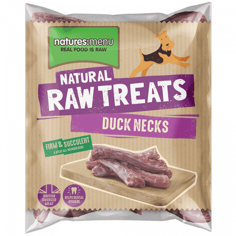 Duck Necks Frozen Raw Treat