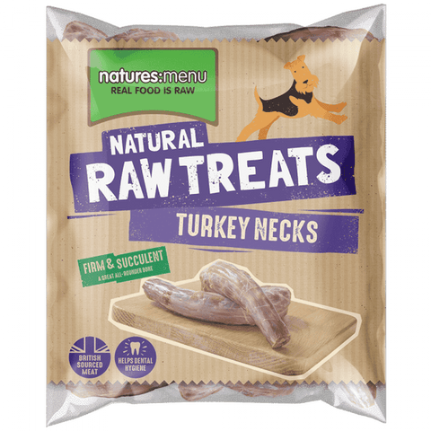 Turkey Necks Frozen Raw Treat
