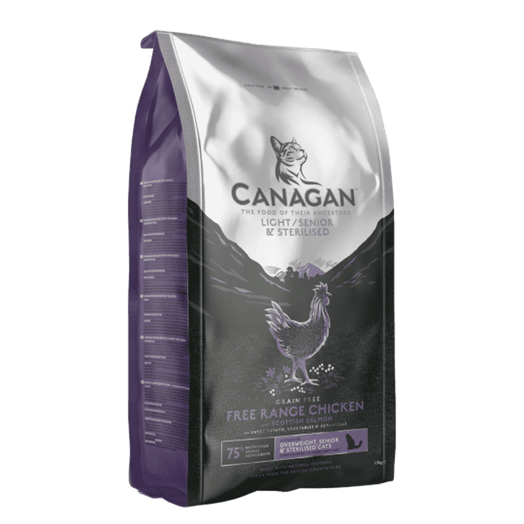Canagan Senior/Light Grain Free Cat Food-Cat Dry Food-Canagan-375g-Dofos Pet Centre