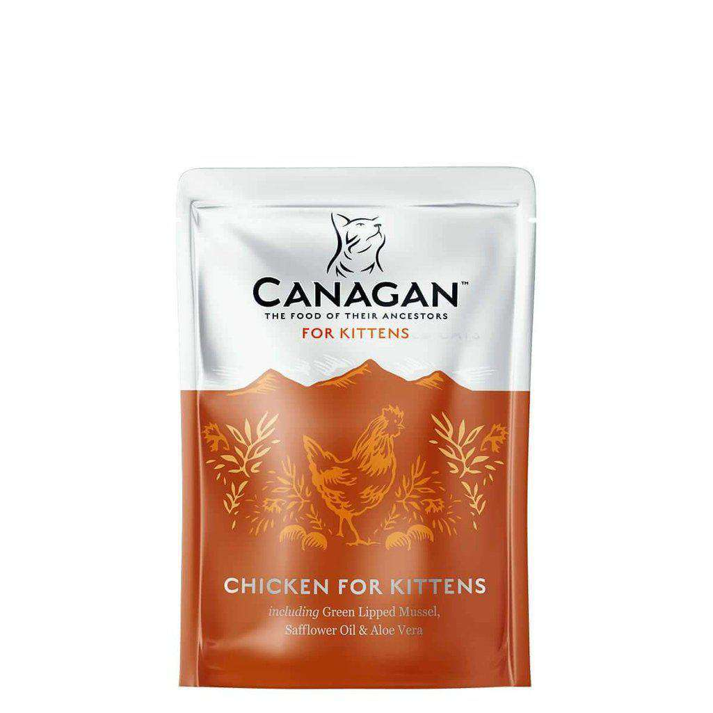 Canagan Chicken For Kittens 85g Cat Wet food