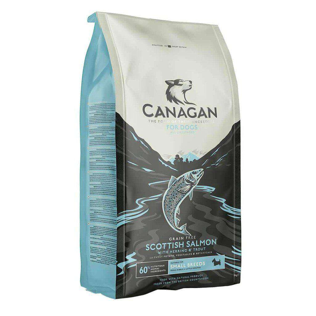 Canagan Small Breed Salmon Grain Free Dog Food-Dog Dry Food-Canagan-2kg-Dofos Pet Centre