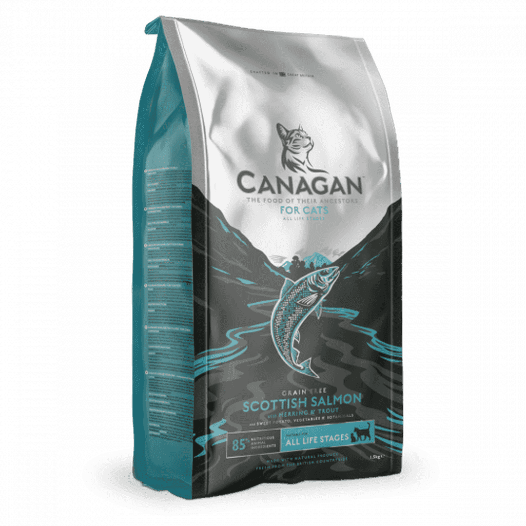 Canagan Scottish Salmon Grain Free Dry Cat Food-Cat Dry Food-Canagan-375g-Dofos Pet Centre