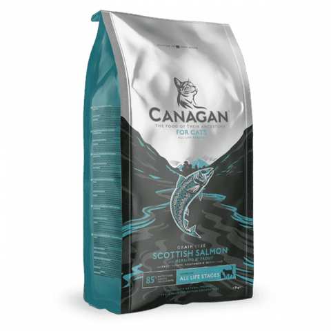 Canagan Scottish Salmon Grain Free Dry Cat Food