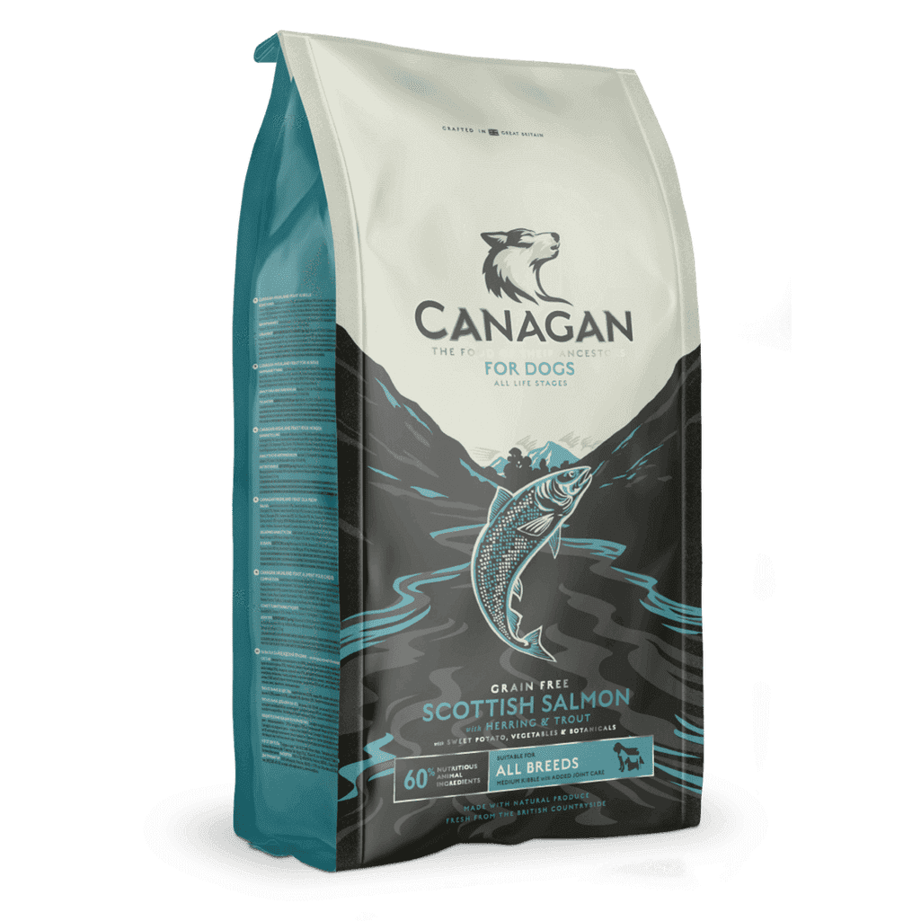Canagan Scottish Salmon Grain Free Dog Food-Dog Dry Food-Canagan-2kg-Dofos Pet Centre