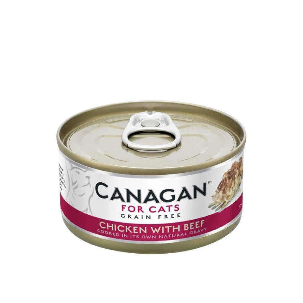 Canagan Chicken With Beef Can Cat Wet Food 75g