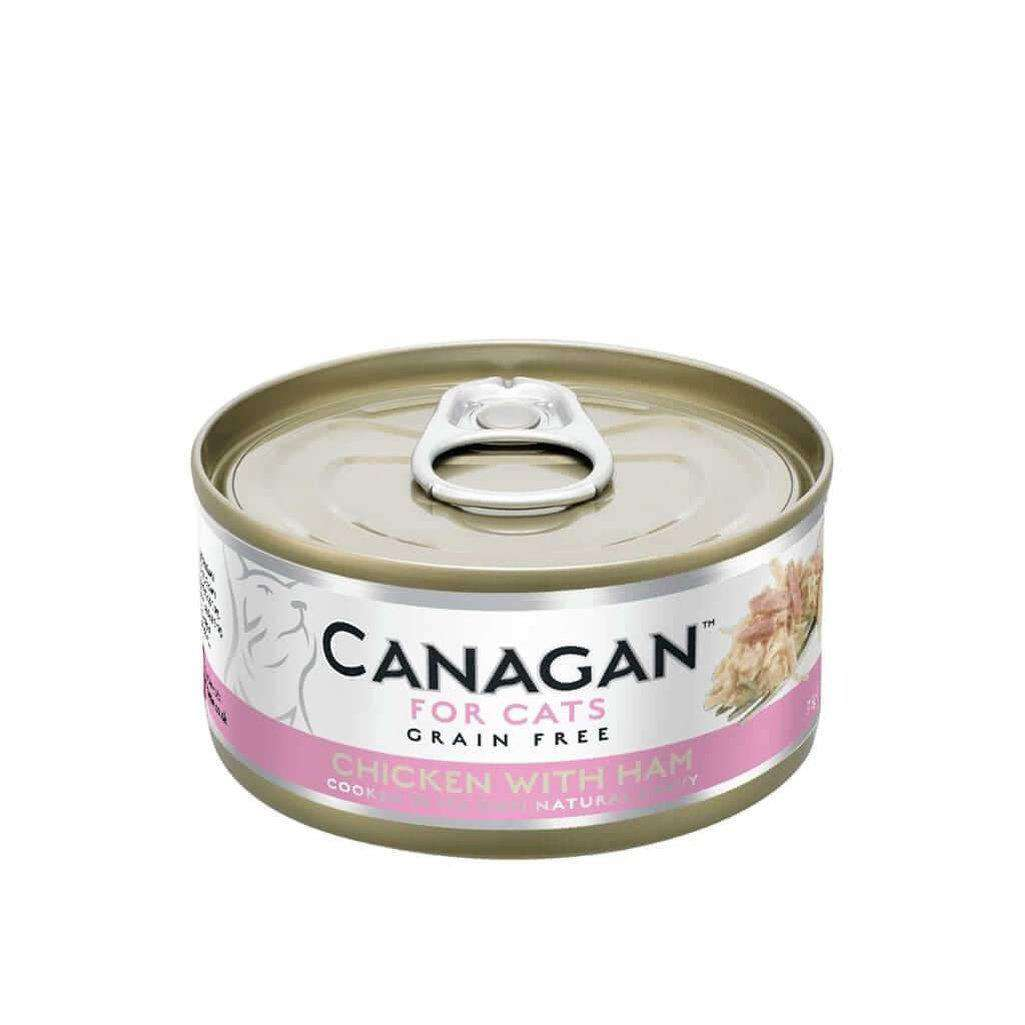 Canagan Chicken With Ham Can Cat Wet Food 75g
