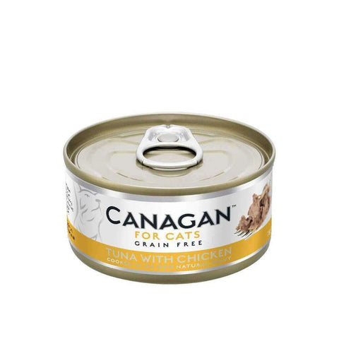Canagan Tuna With Chicken Can Cat Wet Food 75g