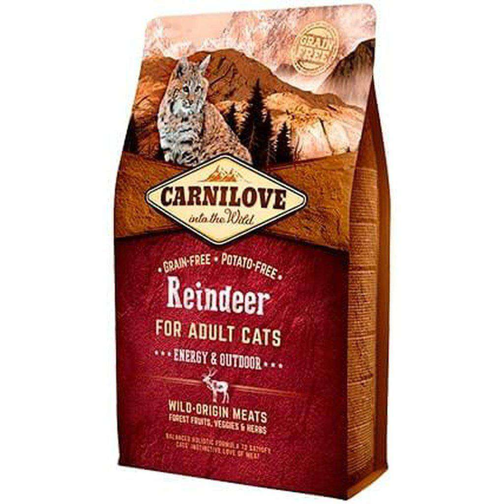 Carnilove Reindeer Grain Free Dry Cat Food-Cat Dry Food-Carnilove-2kg-Dofos Pet Centre