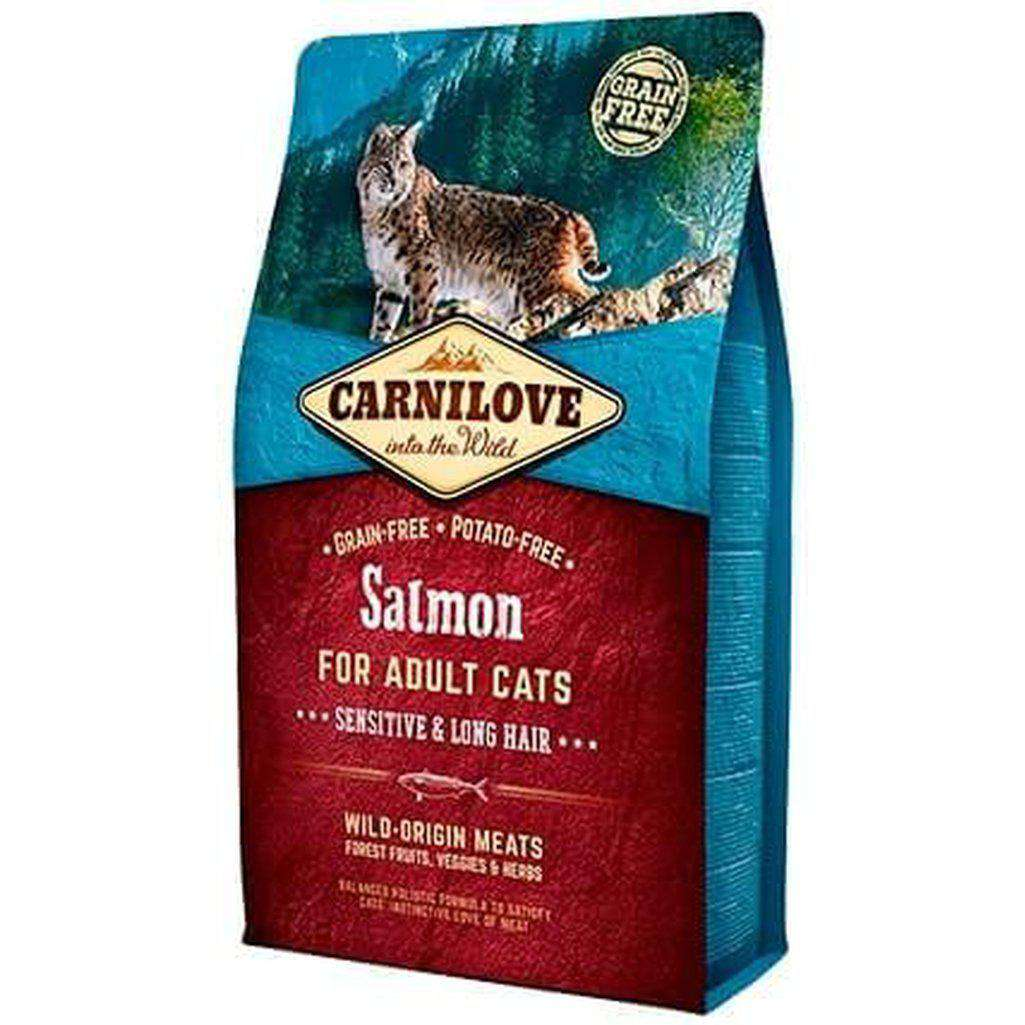 Carnilove Salmon Grain Free Dry Cat Food-Cat Dry Food-Carnilove-2kg-Dofos Pet Centre